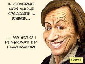 Italia dei DoloriElsa Fornero ammette il Golpe Finanziario. Ora si ...