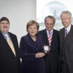 La Società Europea Coudenhove-Kalergi ha assegnato alla Cancelliera Federale Angela Merkel il Premio europeo nel 2010